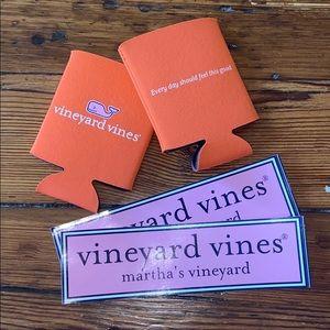 Vineyard Vines Koozies & Stickers